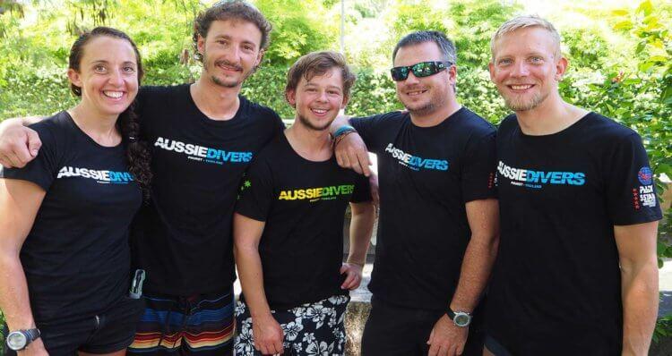 World's Best_t-shirts Aussie Divers Phuket