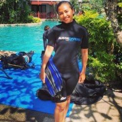 Preaw Office Staff Aussie Divers Phuket