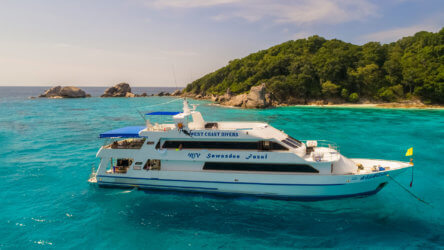 Sawasdee Fasai Aussie Divers Similan Islands Liveaboard