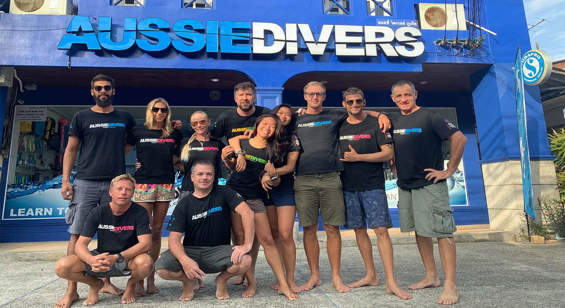 Aussie Divers Team