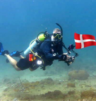 Danish Instructor Phuket Thailand Aussie Divers