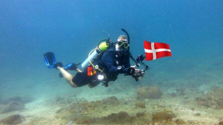 Danish Instructor Phuket Thailand Aussie Divers