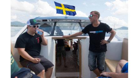 Swedish PADI Dive Instrutor Phuket Thailand