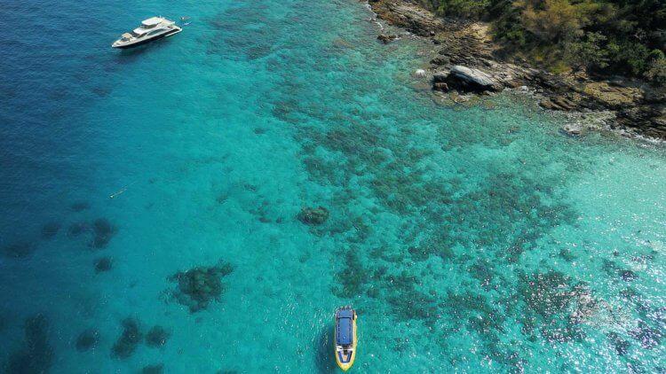 Drone Bay 1 Racha Yai Island Phuket