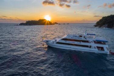 MV Sawasdee Fasai Similan Island Liveaboard Boat