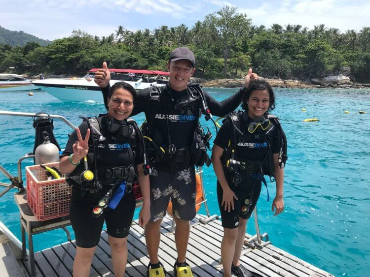First Open Water Dive Aussie Divers Phuket