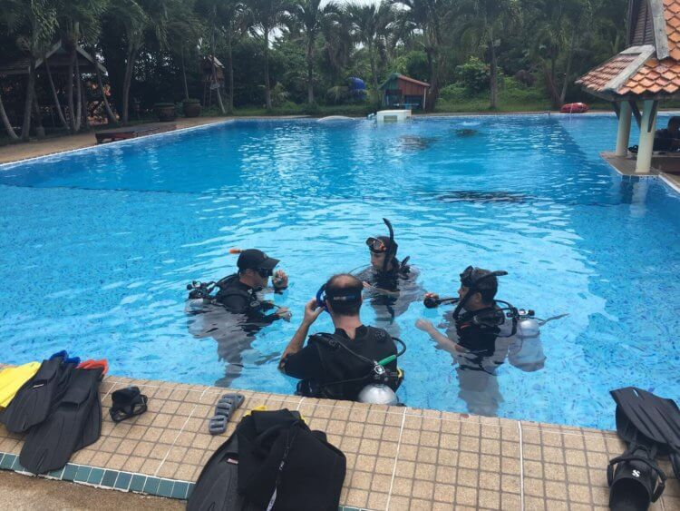 Learning The Dive Skills Aussie Divers Phuket