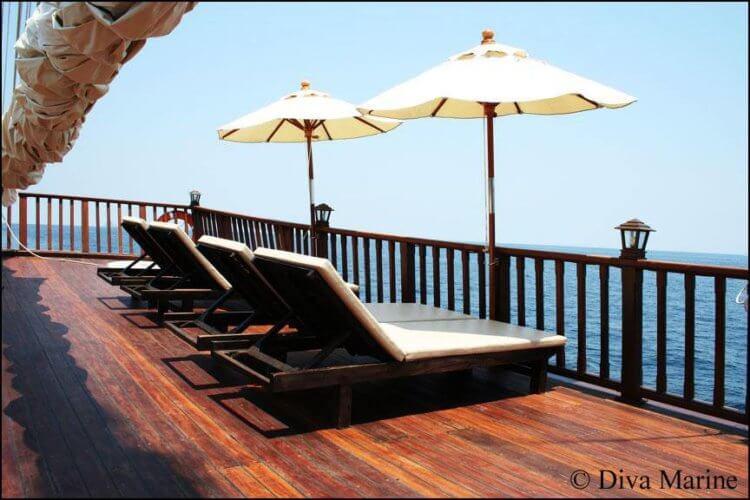 Andaman Diva Similan Island Liveaboard Sundeck