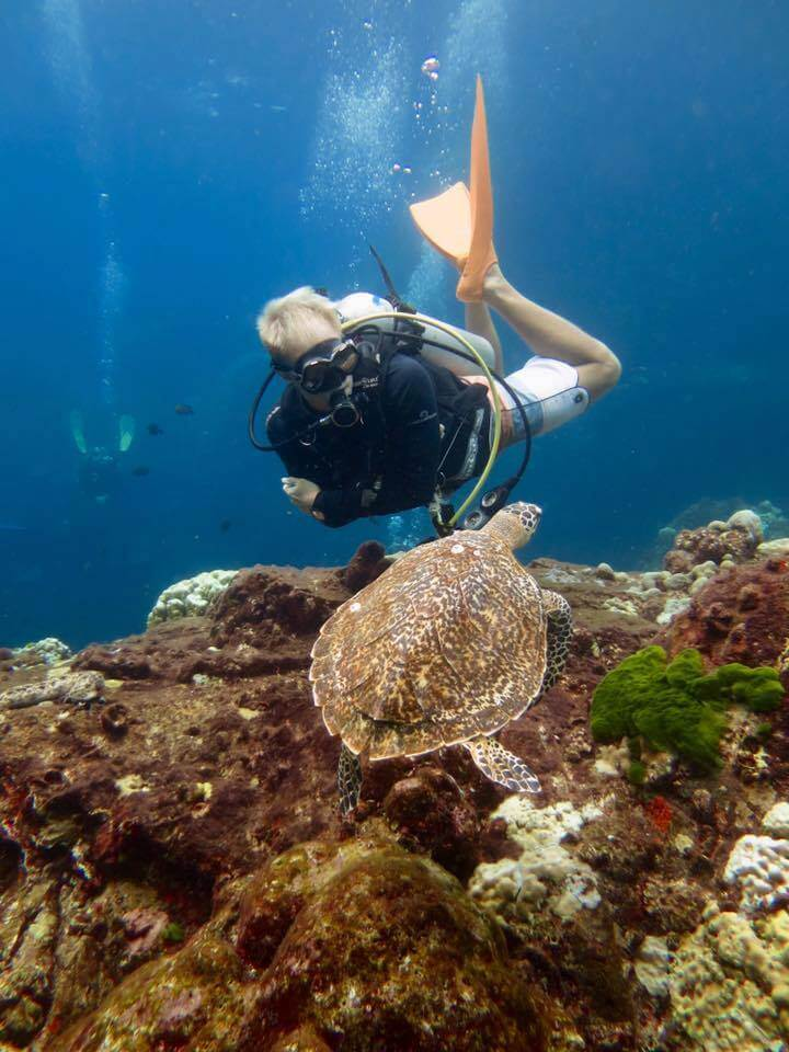 Aussie Divers Phuket Best Scuba Boat Tom Turtle