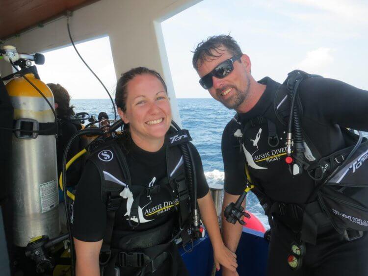 Aussie Divers Phuket Best Scuba Boat Cool Divers