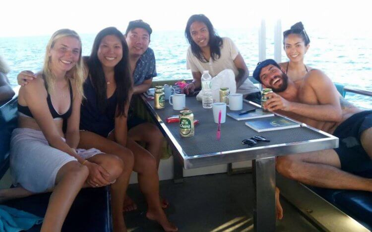 Aussie Divers Phuket Best Scuba Boat Best Team