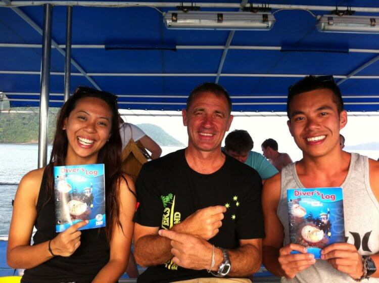 Aussie Divers Phuket Best Scuba Boat Darren