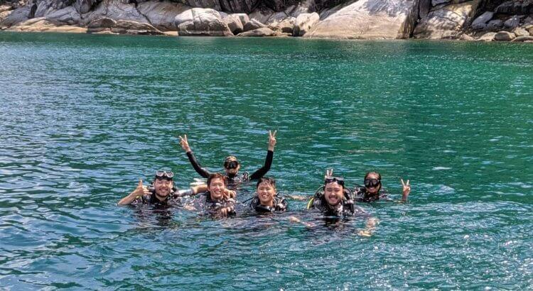 Aussie Divers Phuket Happy Scuba Diving Group
