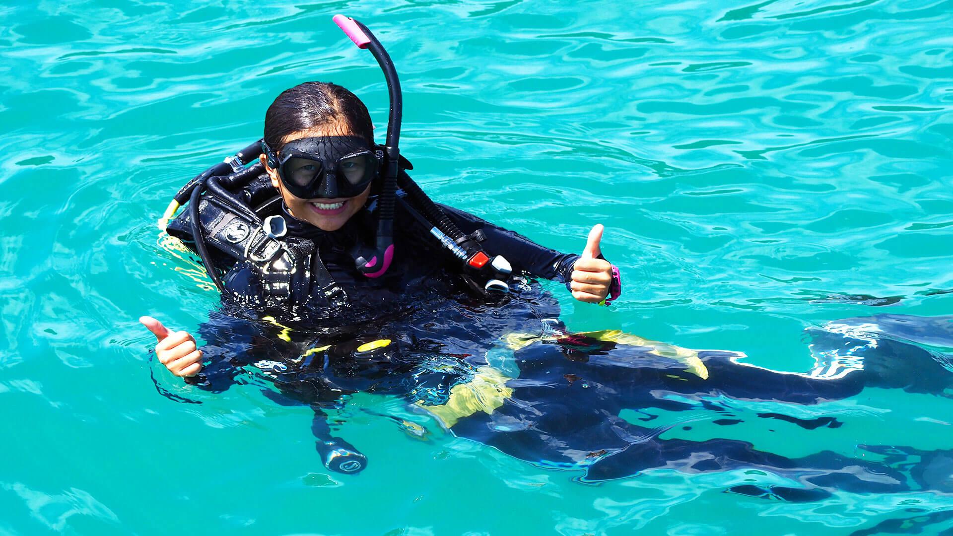 New Chinese Dive Instructor Phuket – Lansy Wong