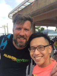 Aussie Divers Phuket Alban and Student
