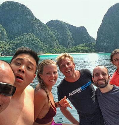 Aussie Divers Phuket Team Lara Andre