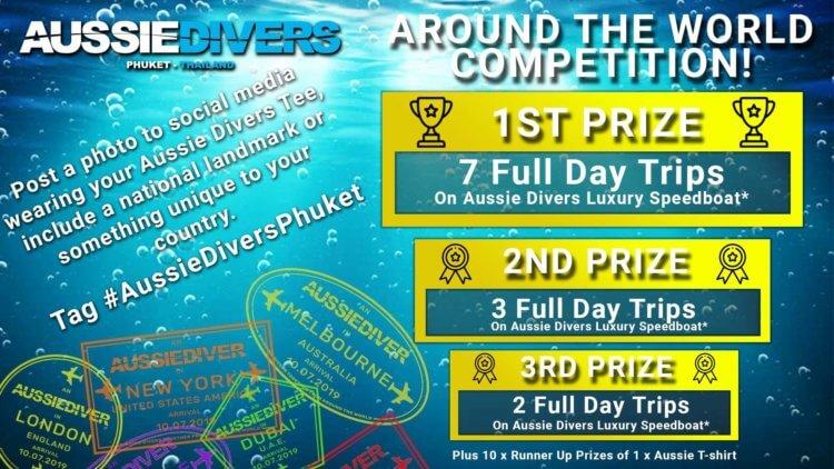 Aussie Divers Phuket Around the World Promotion