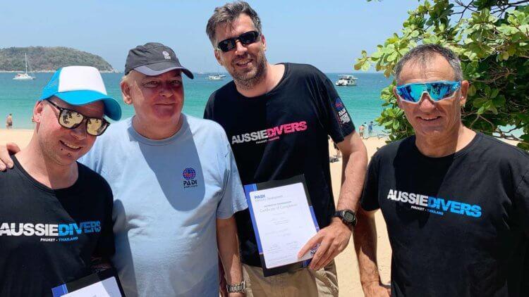 Aussie Divers Phuket Divemaster Instructor IDC