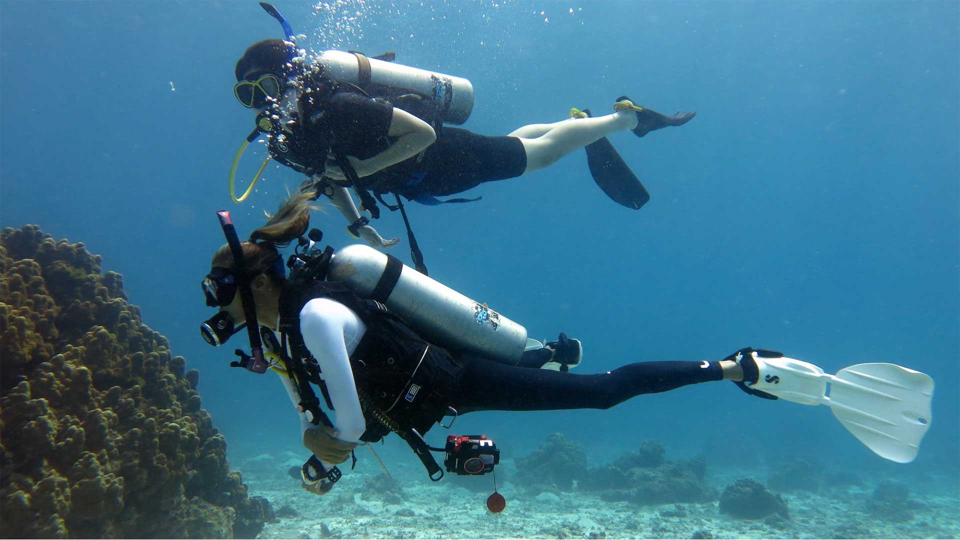 PADI Peak Performance Buoyancy Course