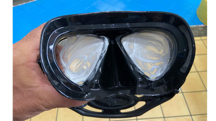 Scuba Mask Preparation Aussie Divers Phuket