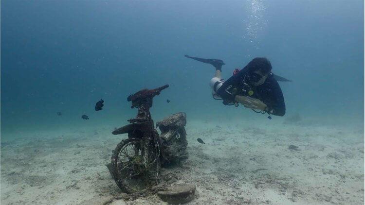 Alban Sidemount Motorbike Aussie Divers
