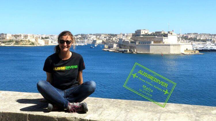 Nora Valetta Malta Aussie Divers
