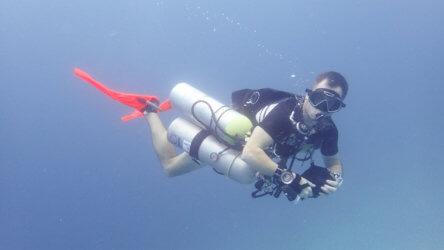 PADI Tec Sidemount Aussie Divers