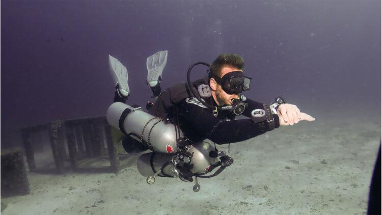 Sean PADI Tec Sidemount Aussie Divers