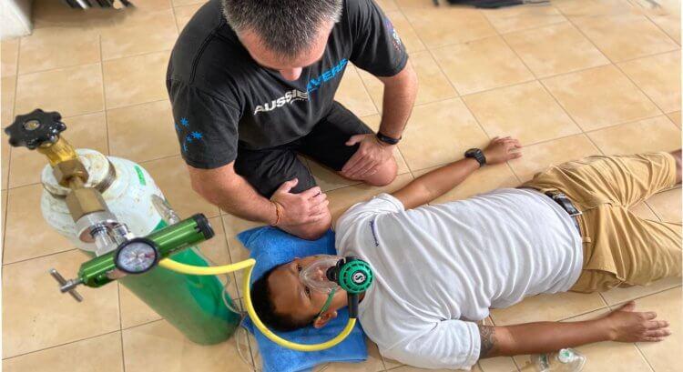 PADI O2 Provider Aussie Divers Phuket