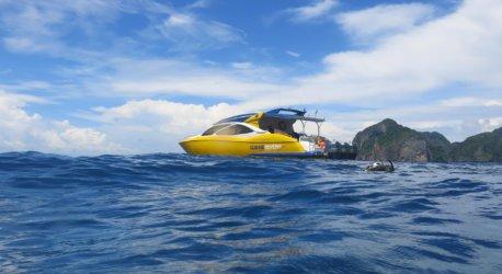Aussie Divers Speedboat Phi Phi