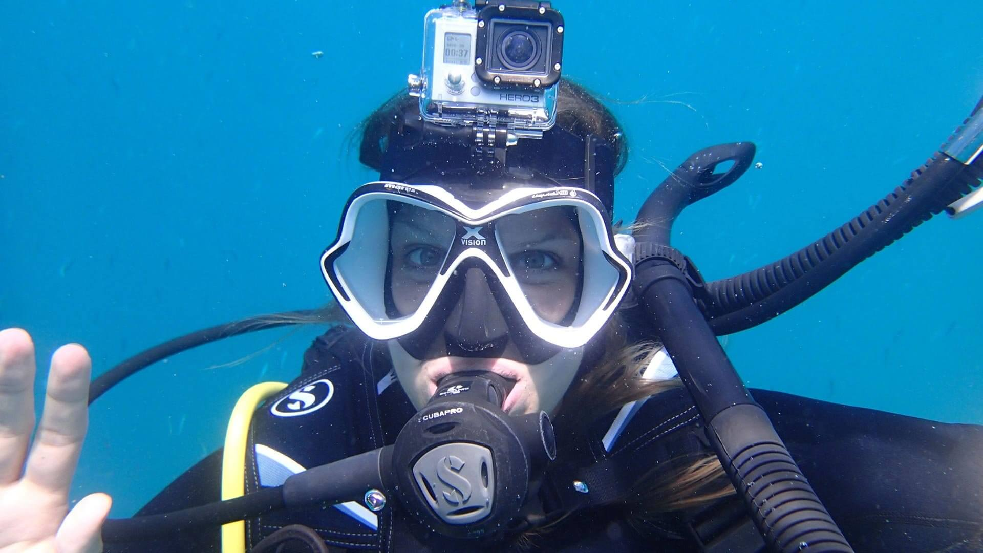 Why does my scuba mask fog up?