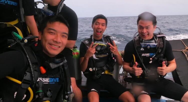 Getting Ready To Dive Aussie Divers Phuket