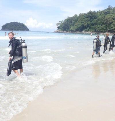 Kata Beach Dive Aussie Divers Phuket
