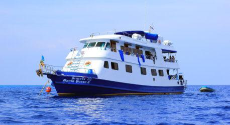 Manta Queen 2 Boat Aussie Divers