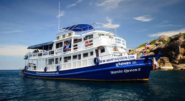 Manta Queen 3 Boat Aussie Divers