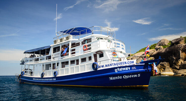 Manta Queen 5 Boat Aussie Divers