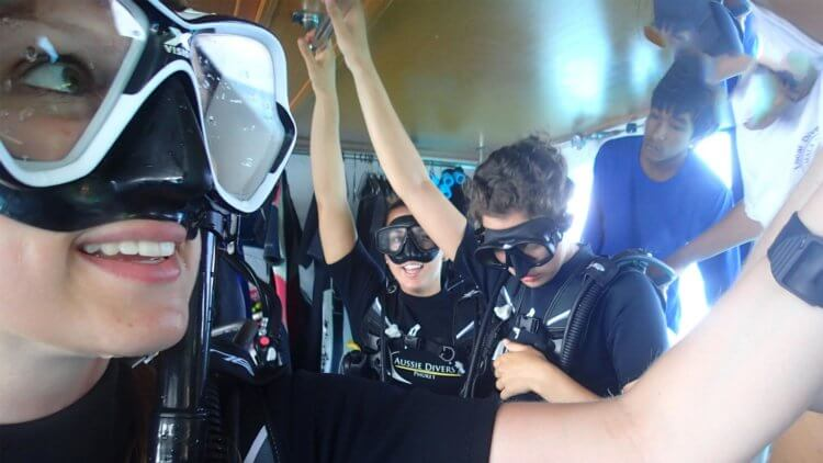 Ready to Dive With Aussie Divers Phuket
