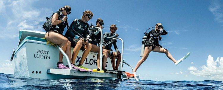 Scubapro Giant Stride Aussie Divers