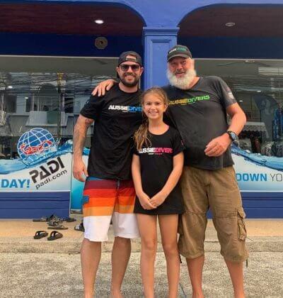 Scuba Diving Children Aussie Divers Phuket