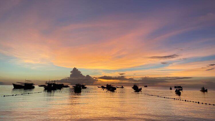 Sunset Ko Tao Aussie Divers