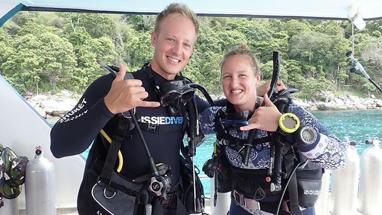 My First Dive – Aussie Divers Staff