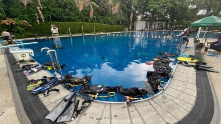 Bangkok Aussie Divers Pool Training