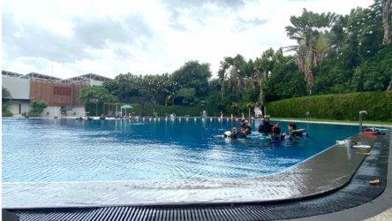 Bangkok PADI Open Water Pool Aussie Divers