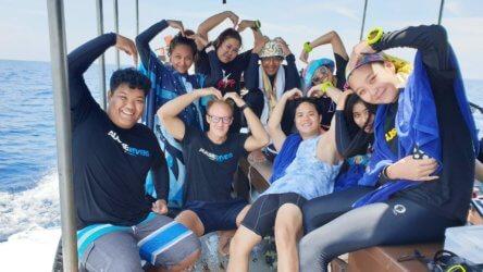 Great Day Sail Rock Aussie Divers Koh Tao