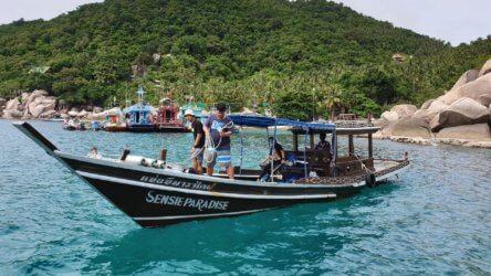 Sensi Paradise Dive Boat Aussie Divers Koh Tao