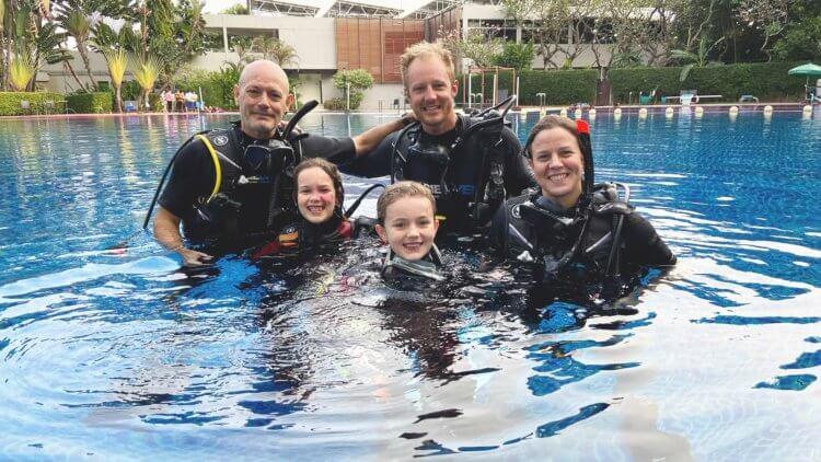 Bangkok Pool PADI Open Water Course