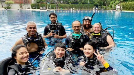 Fun Bangkok Pool Training Padi Aussie Divers