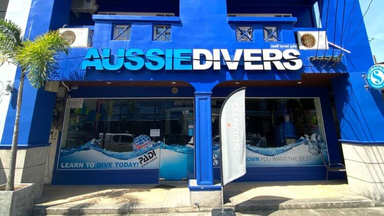 Aussie Divers Phuket Chalong Shop