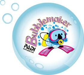 PADI Bubblemaker Aussie Divers Phuket